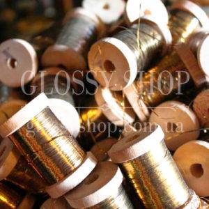 Нити металлизированные, люрекс, драгметалл