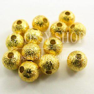 Бусины золотые