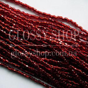 Купить богемский бисер на нитке в Киеве