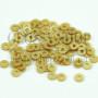 Пайетки жемчужный золотой