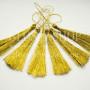 Кисти люрексные золото
