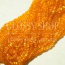 Бисер богемский оранжевый апельсин