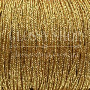 Сутаж металлизированный золотой