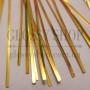 Нить мишурная (бить) для вышивки золото