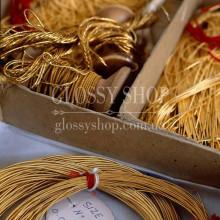Канитель и нитки для золотого шитья