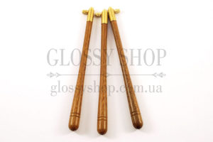 Крючок люневильский коричневое дерево ипе