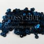 Пайетки благородный темно-синий