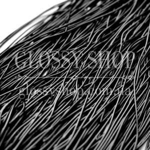 Канитель мягкая черная (матовая) 5гр