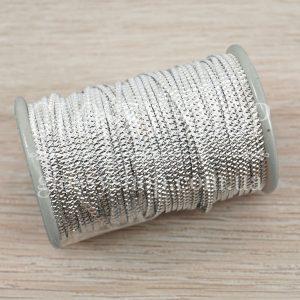 Бить гофрированная серебро С