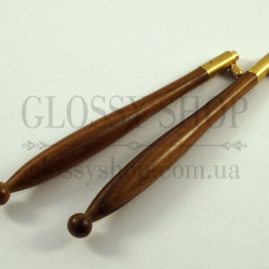 Ручка для люневильского крючка из бомбейского черного дерева